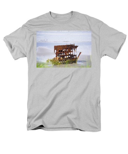 Peter Iredale Men's T-Shirt  (Regular Fit) by Angi Parks