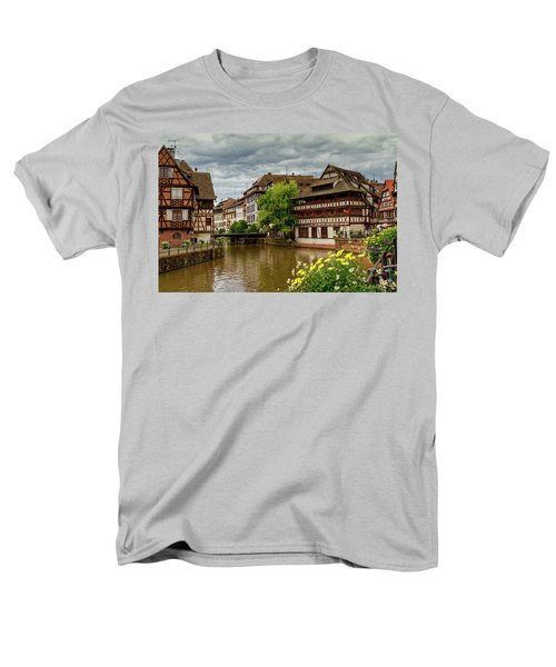 Petite France, Strasbourg Men's T-Shirt  (Regular Fit) by Elenarts - Elena Duvernay photo