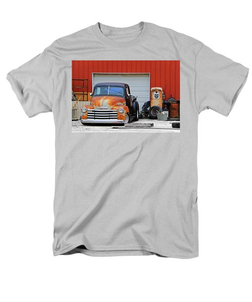 Men's T-Shirt  (Regular Fit) featuring the photograph Pickup Chevrolet by Christopher McKenzie