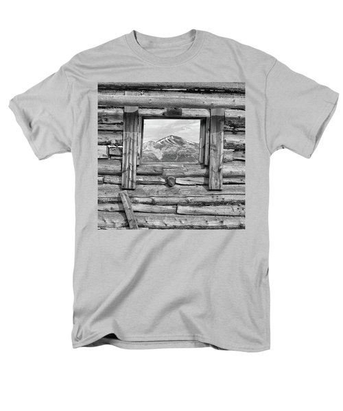 Men's T-Shirt  (Regular Fit) featuring the photograph Picture Window #2 by Eric Glaser