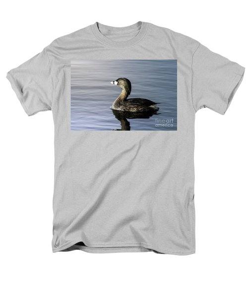 Men's T-Shirt  (Regular Fit) featuring the photograph Pied-billed Grebe by Robert Frederick