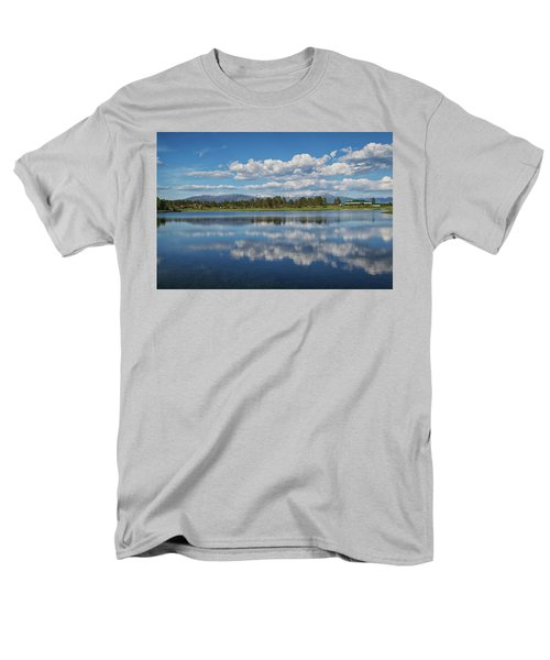 Pinon Lake Reflections Men's T-Shirt  (Regular Fit) by Jason Coward