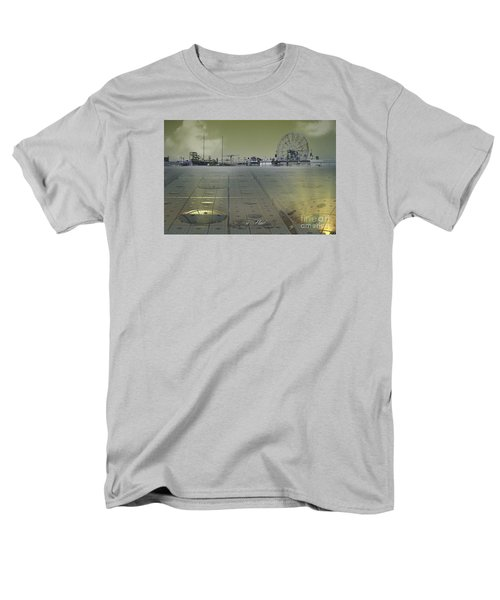 Men's T-Shirt  (Regular Fit) featuring the digital art Playground On Planet X by Melissa Messick