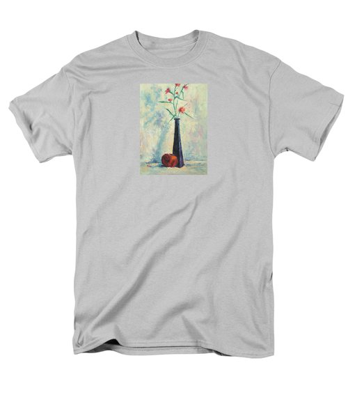 Pomegranate And Black Vase Men's T-Shirt  (Regular Fit) by Jill Musser