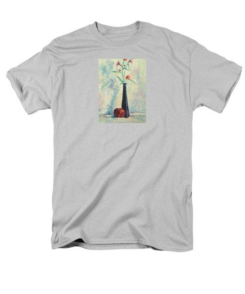 Pomegranate And Black Vase Men's T-Shirt  (Regular Fit)
