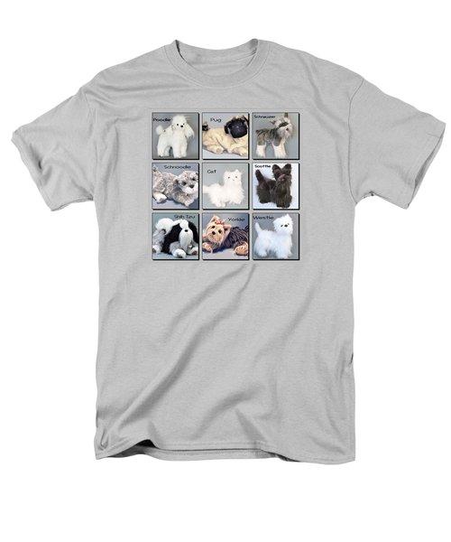 Popular Pooches Men's T-Shirt  (Regular Fit) by David and Lynn Keller