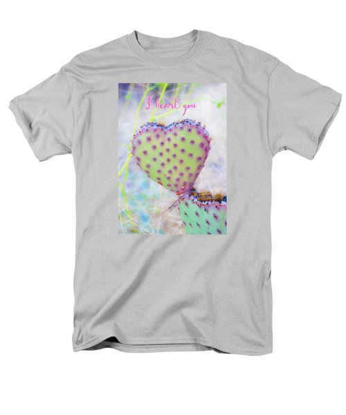 Prickly Heart Men's T-Shirt  (Regular Fit) by Karen Stephenson