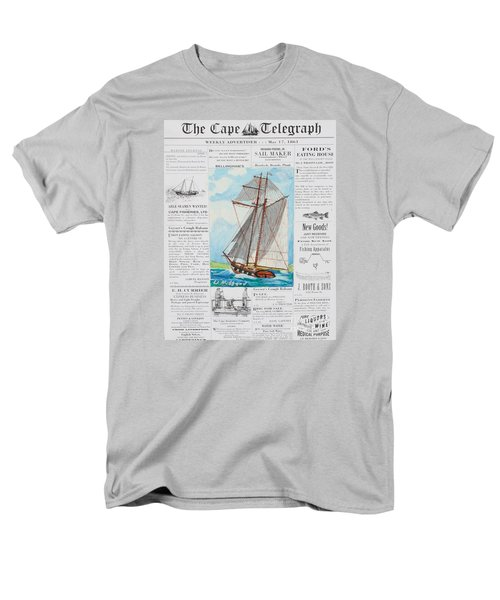 Privateer Off Charleston, Sc Men's T-Shirt  (Regular Fit) by Bill Hubbard