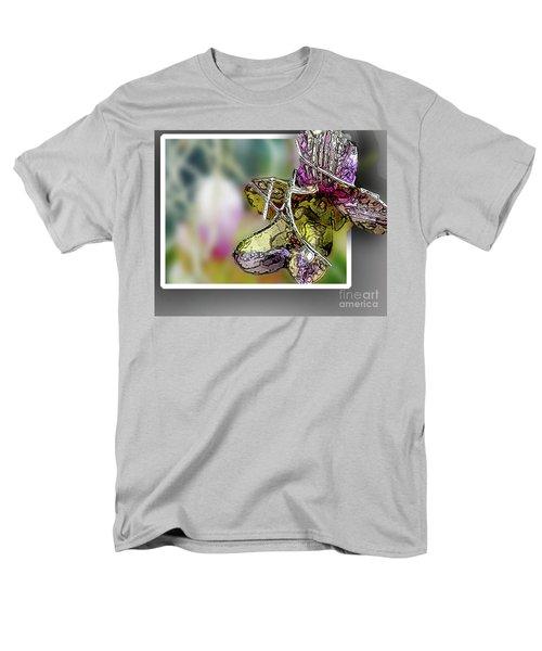 Purple Orchid Pop Men's T-Shirt  (Regular Fit) by Deborah Nakano