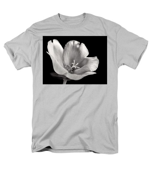 Men's T-Shirt  (Regular Fit) featuring the photograph Purslane In Monochrome by David and Carol Kelly