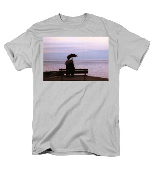 Men's T-Shirt  (Regular Fit) featuring the photograph Rainy-may In Color by John Scates