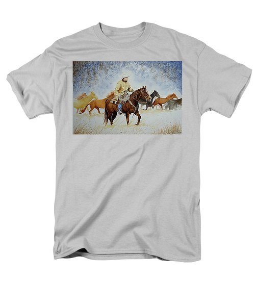 Ranch Rider Men's T-Shirt  (Regular Fit) by Jimmy Smith