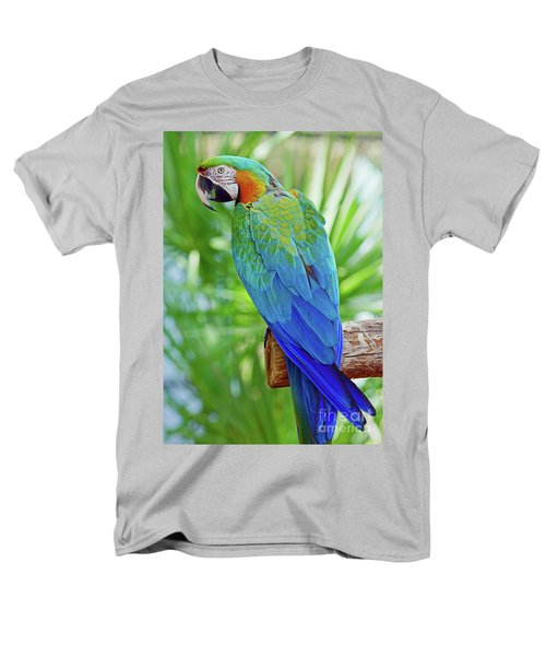 Men's T-Shirt  (Regular Fit) featuring the photograph Rapsody In Blue by Larry Nieland