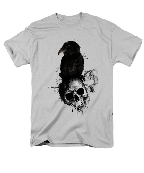 Raven And Skull Men's T-Shirt  (Regular Fit) by Nicklas Gustafsson
