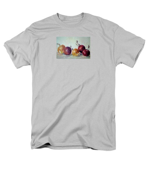 Red And Yellow Onions Men's T-Shirt  (Regular Fit) by Jill Musser