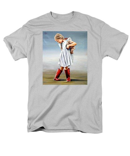 Red Boots Men's T-Shirt  (Regular Fit)