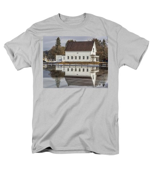 Reflected Town House Men's T-Shirt  (Regular Fit) by Tim Kirchoff
