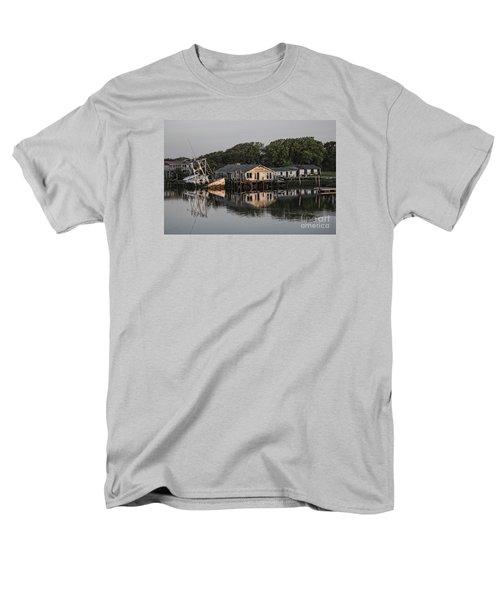 Reflection Noitcelfer Men's T-Shirt  (Regular Fit) by Roberta Byram