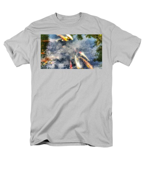 Reflections And Fish 4 Men's T-Shirt  (Regular Fit) by Isabella F Abbie Shores FRSA