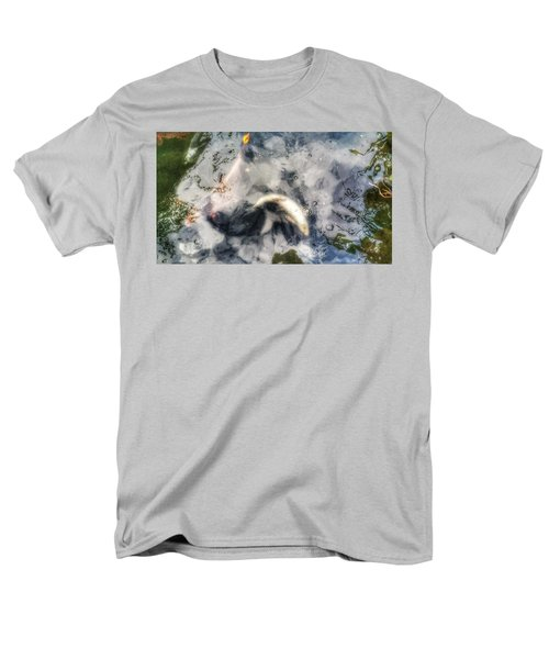 Reflections And Fish 8 Men's T-Shirt  (Regular Fit) by Isabella F Abbie Shores FRSA