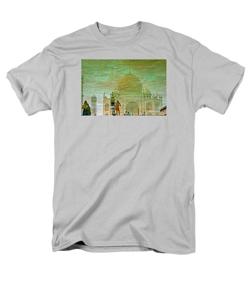 Reflections At The Taj Men's T-Shirt  (Regular Fit) by Michael Cinnamond
