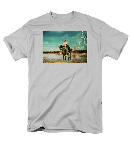 Rescue Men's T-Shirt  (Regular Fit) by James Bethanis