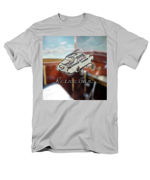 Retro Car Men's T-Shirt  (Regular Fit) by La Reve Design