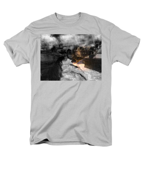 Rainbow In The Mist Men's T-Shirt  (Regular Fit) by Sherman Perry