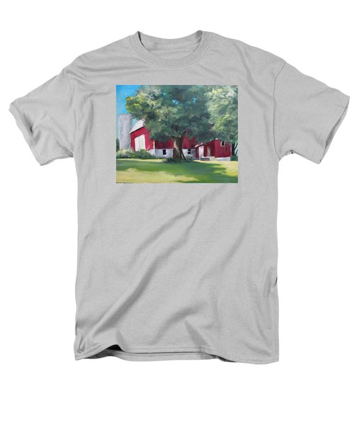 Rich's Barn Men's T-Shirt  (Regular Fit) by Carol Hart