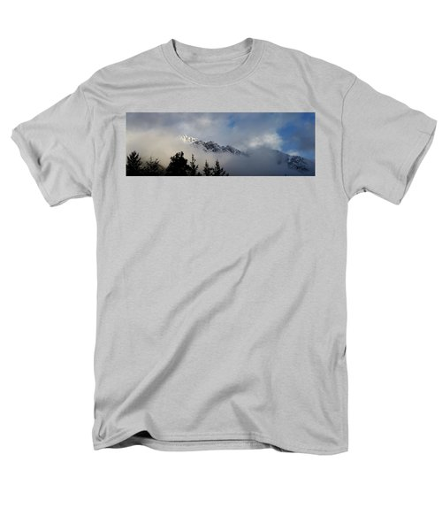 Rockies In The Clouds. Men's T-Shirt  (Regular Fit) by Ellery Russell