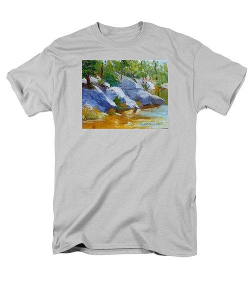 Rose Canyon Lake Men's T-Shirt  (Regular Fit) by Susan Woodward
