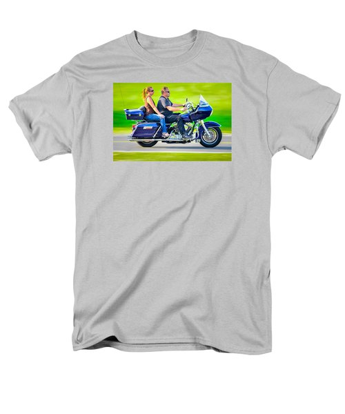 Men's T-Shirt  (Regular Fit) featuring the photograph Rural Ride 2 by Brian Stevens