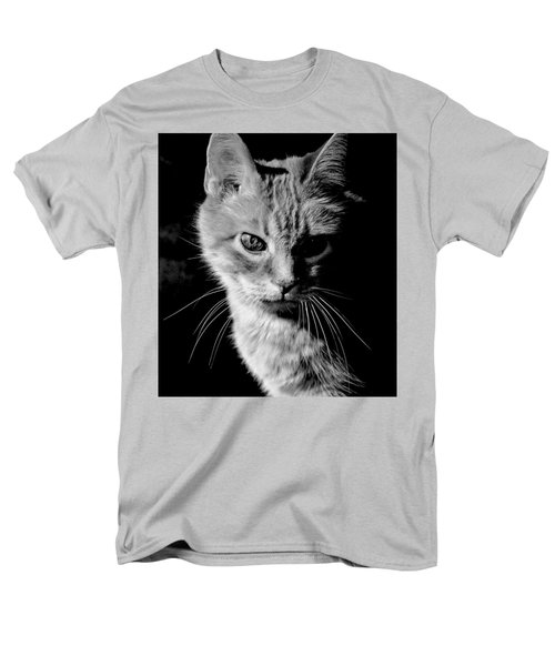 Rustie, Blind, Deaf Extroadinaire Black And White Men's T-Shirt  (Regular Fit) by Antonia Citrino