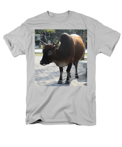 Men's T-Shirt  (Regular Fit) featuring the photograph Sacred Cow 2 by Randall Weidner