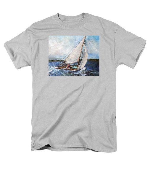 Sail Away Men's T-Shirt  (Regular Fit) by Michael Helfen