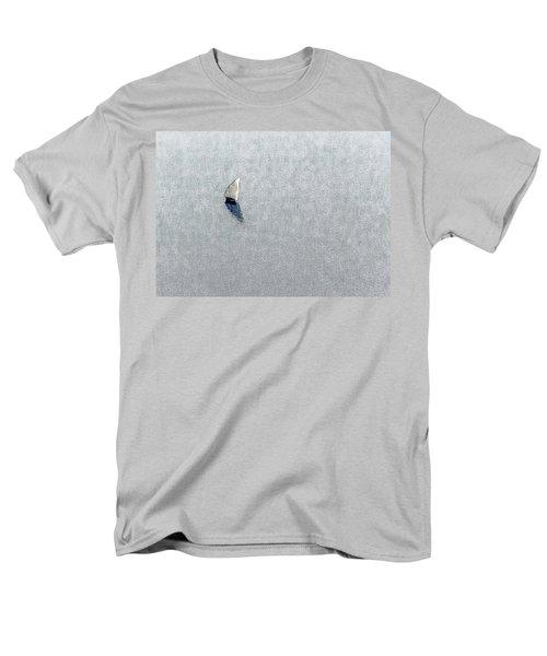 Sailing Boat Lake Victoria Men's T-Shirt  (Regular Fit) by Patrick Kain