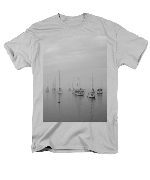Sailing Bw Men's T-Shirt  (Regular Fit) by Silvia Bruno