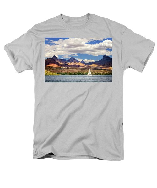 Sailing In Havasu Men's T-Shirt  (Regular Fit)