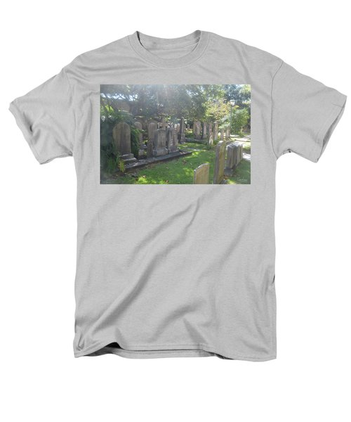 Saint Phillips Cemetery 4 Men's T-Shirt  (Regular Fit) by Gordon Mooneyhan