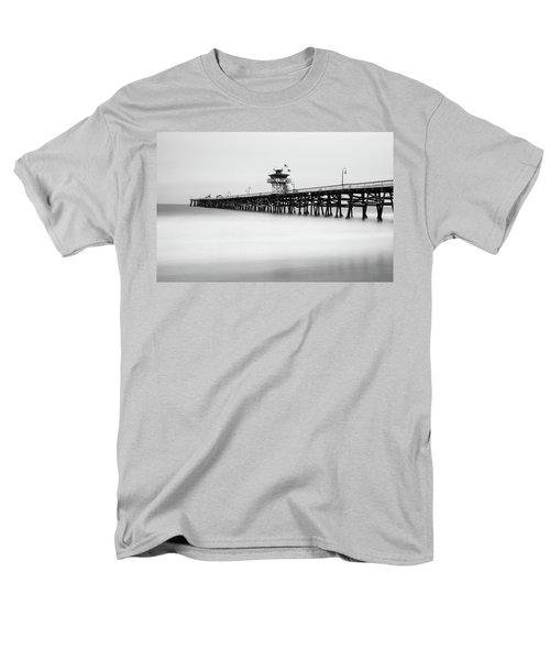 San Clemente Pier Men's T-Shirt  (Regular Fit) by Tassanee Angiolillo