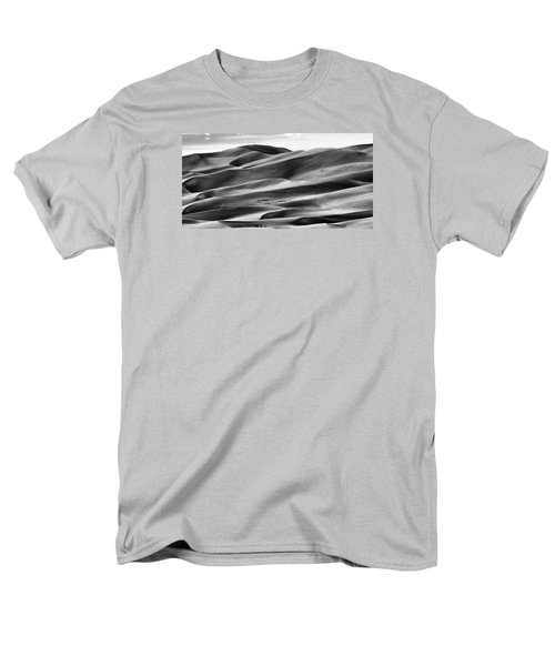 Men's T-Shirt  (Regular Fit) featuring the photograph Sand Dunes And Shadows by Monte Stevens