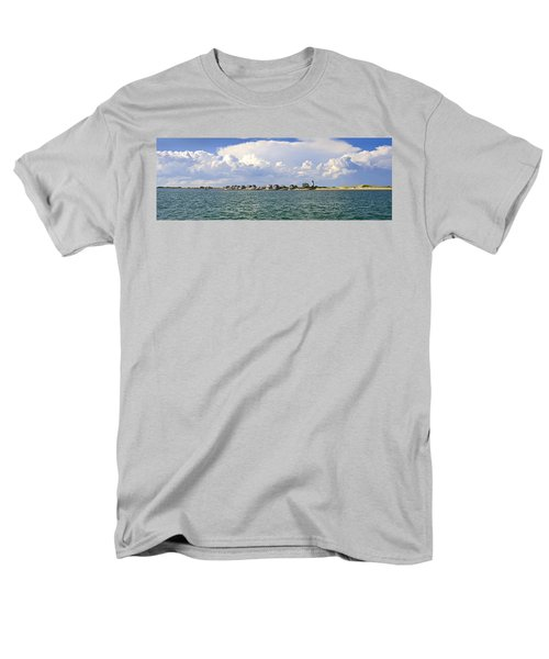 Sandy Neck Cottage Colony Men's T-Shirt  (Regular Fit) by Charles Harden