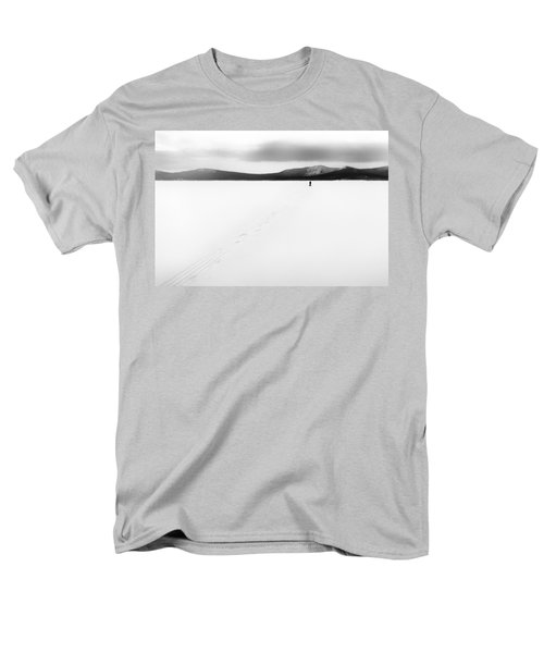 Men's T-Shirt  (Regular Fit) featuring the photograph Sannikov Land by Hayato Matsumoto