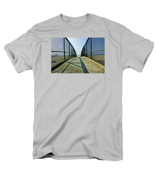 Santa Monica Beach California Men's T-Shirt  (Regular Fit) by Micah May