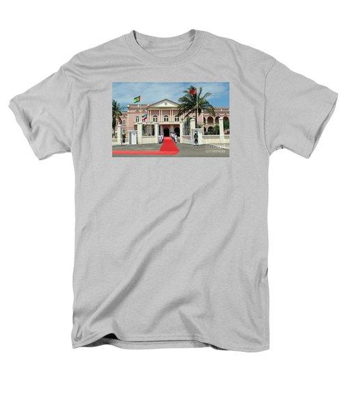 Sao Tome City Hall Men's T-Shirt  (Regular Fit) by John Potts
