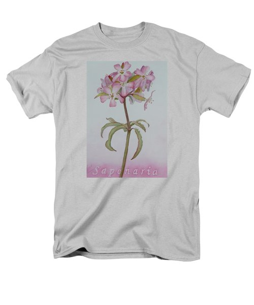 Saponaria Men's T-Shirt  (Regular Fit) by Ruth Kamenev