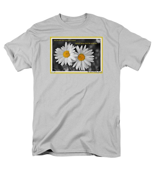 Men's T-Shirt  (Regular Fit) featuring the digital art Scars Have Healed by Holley Jacobs