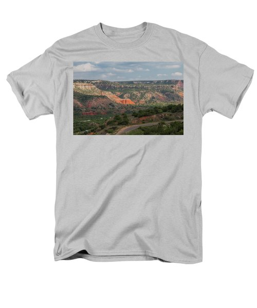 Scenic View Of Palo Duro Canyons Men's T-Shirt  (Regular Fit)