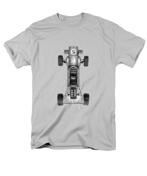 Men's T-Shirt  (Regular Fit) featuring the photograph Schuco Matra Ford Top Bw by YoPedro