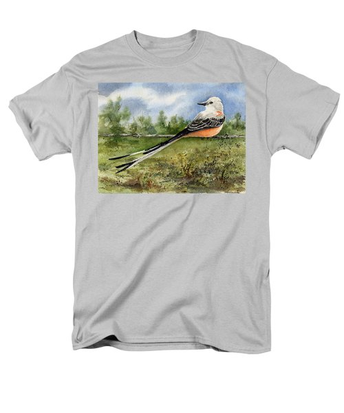 Scissor-tail Flycatcher Men's T-Shirt  (Regular Fit) by Sam Sidders